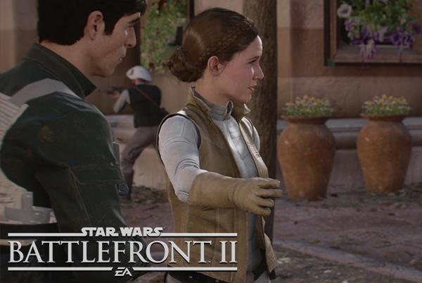 Star Wars Battlefront II – Leia Organa